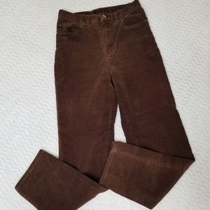 Lauren Ralph Lauren LRL Brown Sz 4 Corduroy Jeans